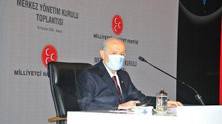 MHP Genel Başkanı Devlet Bahçeli, 19 Haziran 2020