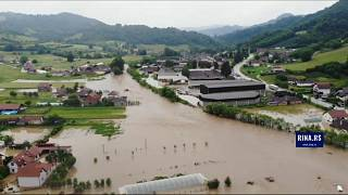 شاهد: أمطار غزيرة وفيضانات تجتاح صربيا والبوسنة