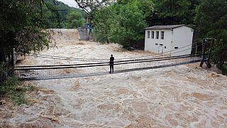جاری شدن سیل در صربستان و بوسنی وهرزگوین خسارت به بار آورد