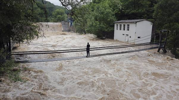 Erinnerung an 2014: Hochwasser in Serbien und Bosnien-Herzegowina