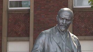 Estatua de Lenin erigida en Gelsenkirchen