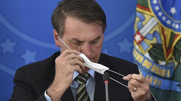 Brezilya Devlet Başkanı Jair Bolsonaro