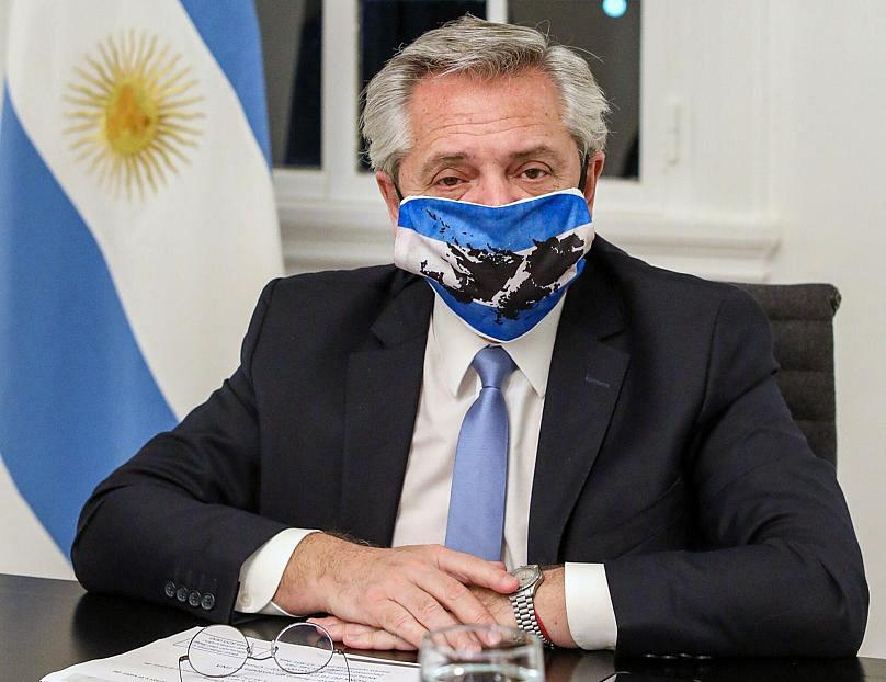 ESTEBAN COLLAZO / Argentina's Presidency Press Office / AFP