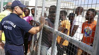 Kıbrıs'taki Kokkinotrimithia mülteci kampı
