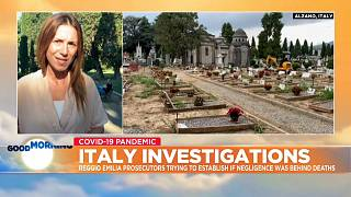 Euronews Italy correspondent Giorgia Orlandi