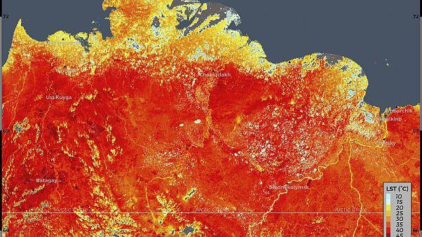 صورة تعبيرية لارتفاع درجة الحرارة في سيبريا