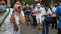 Casos de Covid-19 aumentam na China
