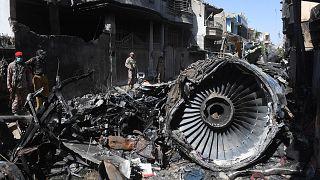 Pakistan'da uçak kazası / Mayıs 2020