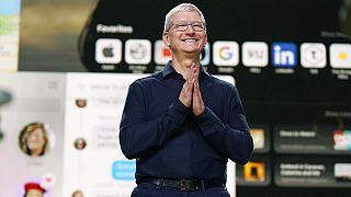 Apple'ın tepe yöneticisi (CEO) Tim Cook