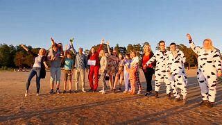 مهرجان البيجاما السنوي في فنلندا