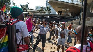 Afrika'da LGBT hakları savunucuları