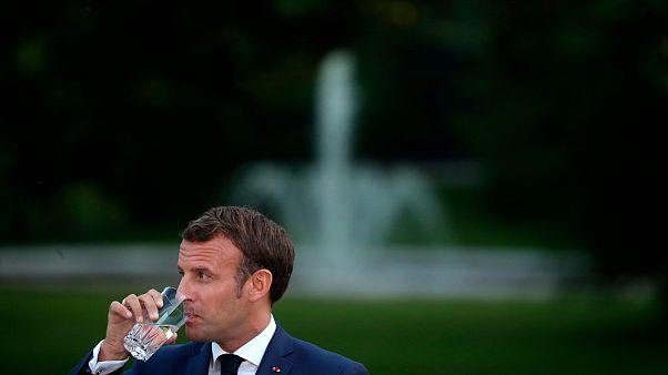 Emmanuel Macron Tunéziában