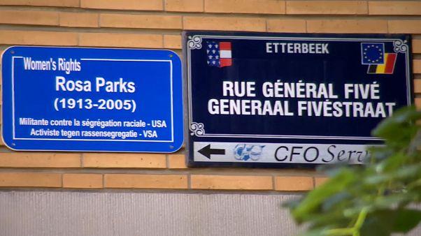 Több utcát átneveznek Brüsszelben a rasszizmus elleni küzdelem miatt
