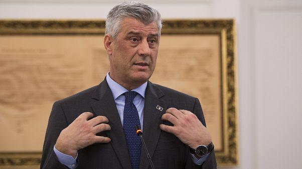 Kosovo: il presidente Thaçi accusato di crimini di guerra