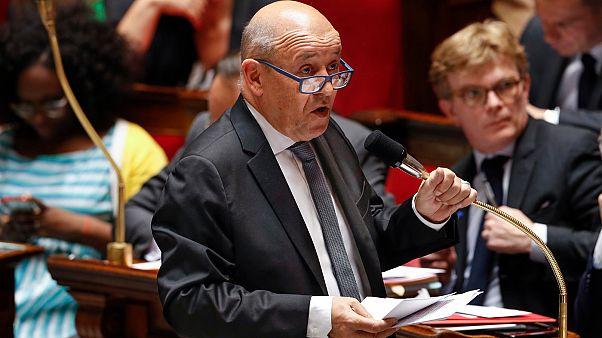 Fransız Dışişleri Bakanı Jean-Yves Le Drian