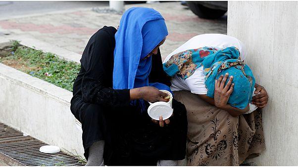 عاملات أجنبيات يعملن في لبنان