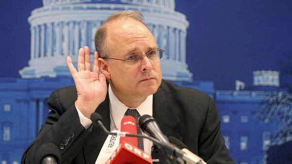 Az amerikai elnök különmegbízottja, Marshal Billingslea az amerikai-orosz nukláris egyeztetésen