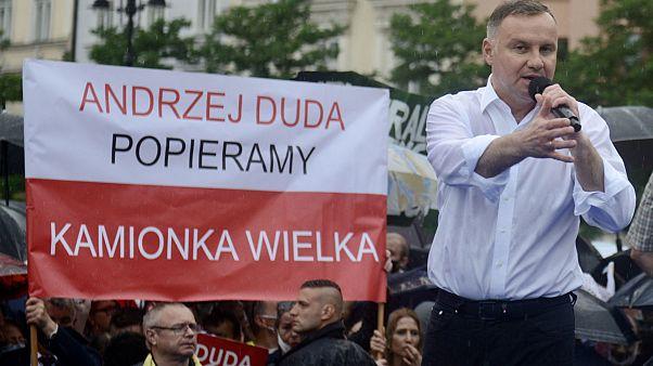 USA oder EU? Polens Präsident trifft im Wahlkampf Donald Trump