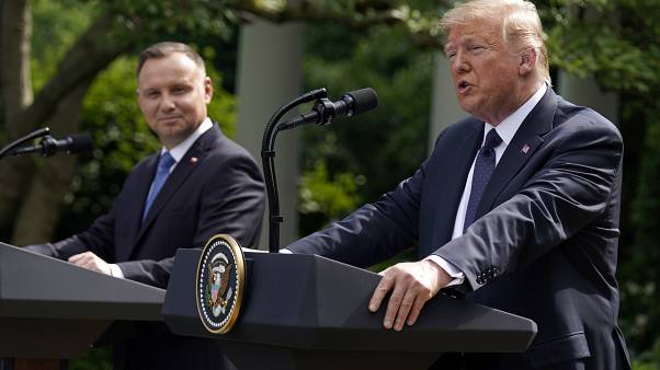 """""""I don't think we've ever been closer to Poland than right now,"""" Trump said."""