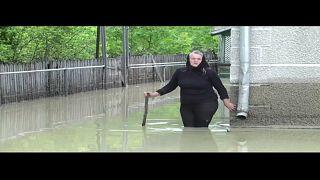 Пострадавшая жительница села Стрелецкий Кут (Украина)