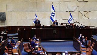 جلسة للكنيست الإسرائيلي