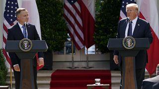 Trump: Almanya'daki ABD askerlerini Polonya'ya kaydırabiliriz