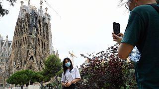 Barcelona fast ohne Touristen: Viele finden's gut