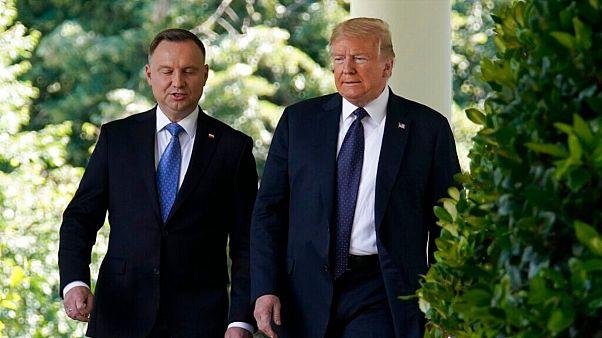 روسایجمهوری آمریکا و لهستان