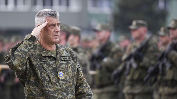 Presidente do Kosovo acusado de crimes de guerra