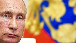 Putin en su despacho el pasado 9 de junio.