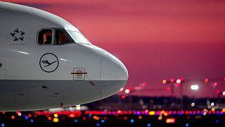 کابین خلبان یکی از هواپیماهای لوفتهانزا
