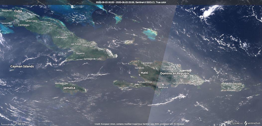 Unión Europea, contiene datos modificados de Copernicus Sentinel 2020 obtenidos con EO Browser