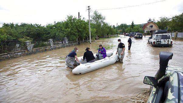 As piores inundações da Ucrânia em 12 anos