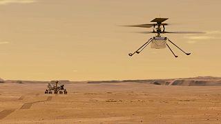 هلیکوپتر مریخ نورد ناسا
