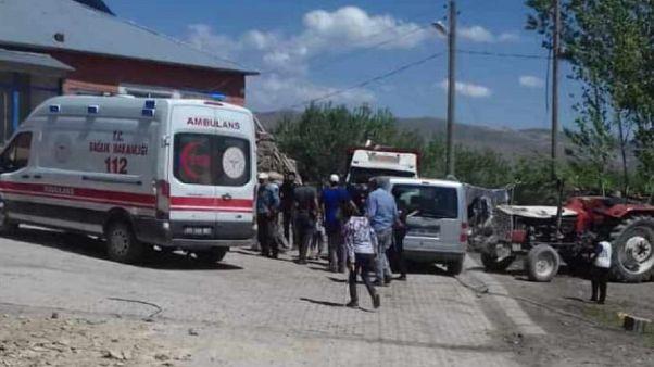 AFAD: Van'ın Özalp ilçesinde 5,4 büyüklüğünde deprem meydana geldi