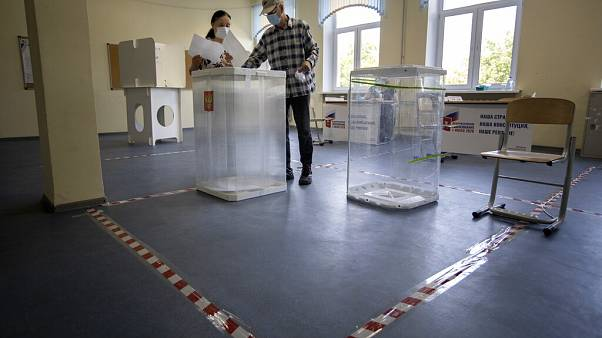 Wahllokal In  Russland
