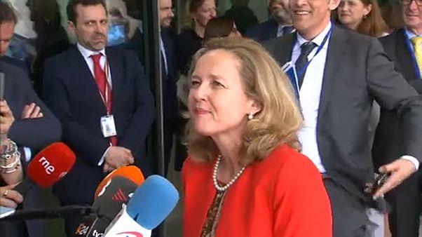 На пост главы Еврогруппы претендует испанка Кальвиньо