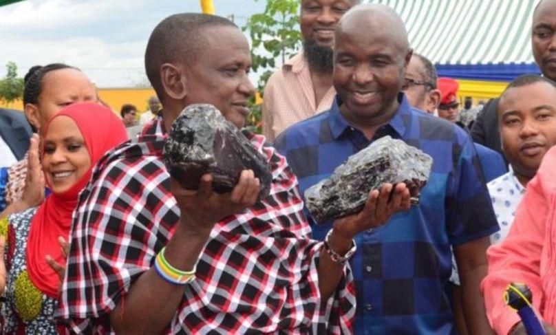 Forrás: Tanzániai Bányászati Minisztérium