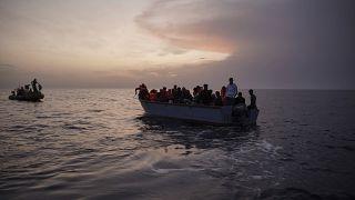 عملية إنقاذ المهاجرين في المتوسط- أرشيف