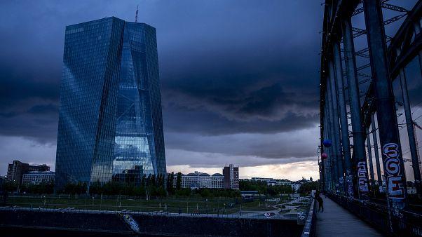 Здание ЕЦБ во Франкфурте