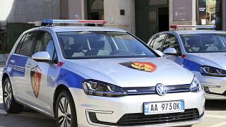 The suspect was arrested at his home in Koxhaj, around 30 kilometers west of the capital, Tirana.
