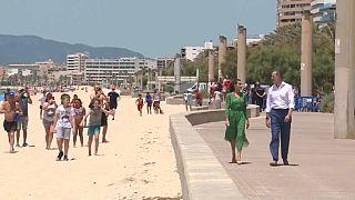 Tourismus-Tour: Felipe und Letizia besuchen Mallorca