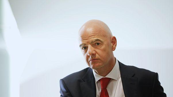 جياني إنفانتينو، رئيس الاتحاد الدولي لكرة القدم