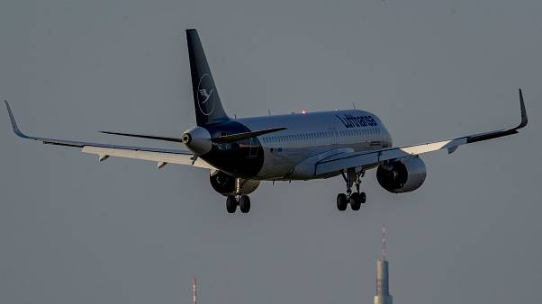 Alman ulusal havayolu şirketi Lufthansa'ya ait yolcu uçağı (arşiv)