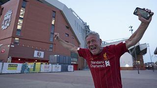 Dieser Liverpool-Fan freut sich über den Titelgewinn