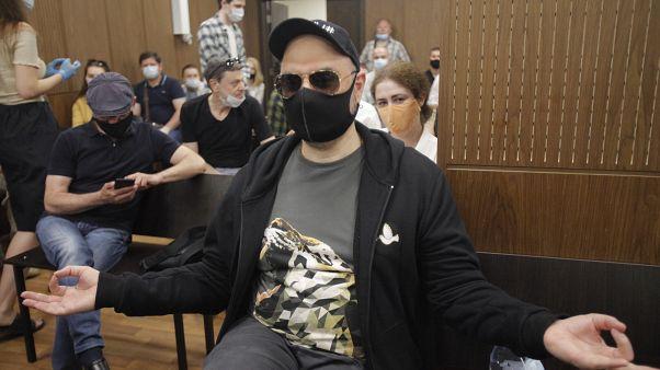 Кирилл Серебренников в зале суда. Москва, 26 июня 2020 года