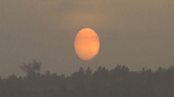 Warnung vor Atembeschwerden: Saharasturm über amerikanischem Kontinent