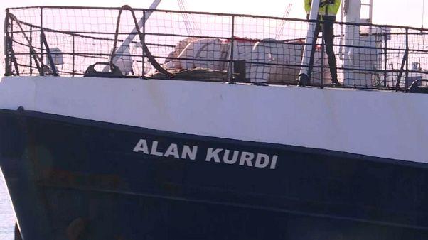 Dissequestrata, nave Alan Kurdi lascia Palermo per la Spagna