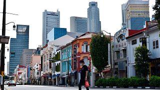 Szingapúr a járvány idején, 2020 májusában