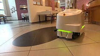 روبوت سيوظف لتعقيم فضاءات سكنية